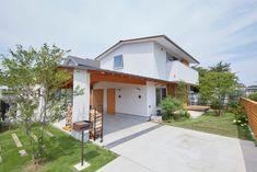 一級建築士事務所co-designstudio 의 화이트  주택 검색 당신의 집에 가장 적합한 스타일을 찾아 보세요