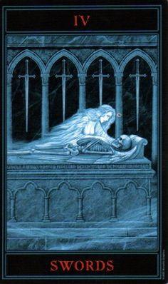 The Gothic Tarot: Four of Swords