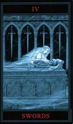 The Gothic Tarot: Four of Swords