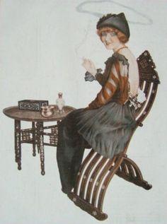 La Vie Parisienne 1914 ~ Raphael Kirchner