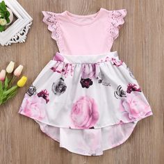 Clothing, Shoes & Accessories Clothing, Shoes & Accessories Uk Girls Baby Kids Minnie Mouse Print Bowknot Polka Dot Cosplay Party Dress To Have Both The Quality Of Tenacity And Hardness