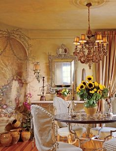 Eye For Design: Old World Interiors ......Diane Burn Style. French Country Fabulous!!!!