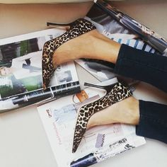 #JimmyChoo #ponyhair #leopardprint  #pointedtoe #pumps - Size 37 1/2  They are BRAND NEW with box and the price is $279.99