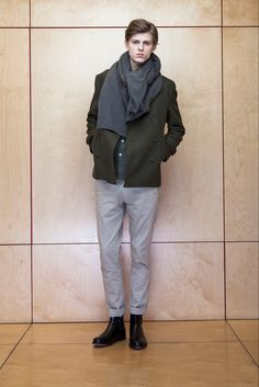 Officine Generale Fall 2015 Menswear Fashion Show