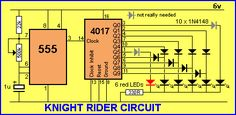 Knight Rider circuit