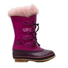 Sorel Kids' Joan of Arctic Insulated Waterproof Winter Boots, Multi Kids Winter Boots, Sorel Winter Boots, Sorel Boots, Snow Boots, Sorel Kids, Sorel Joan Of Arctic, Waterproof Winter Boots, Tall Boots, Suede Leather