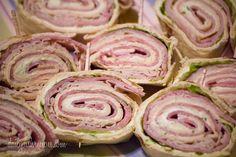 Easy Sandwich Pinwheels Roll Ups