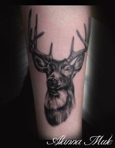 deer / buck tattoo