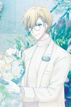 Nagi Rokuya - a bouquet for the true you) Cool Anime Guys, Handsome Anime Guys, Anime Boys, Anime Kunst, Anime Art, Royal Clan, Boy Character, Sunset Wallpaper, Kawaii