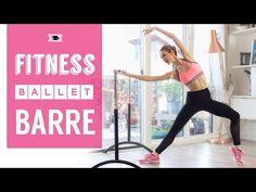 Dance Tips - Video : Ballet Fitness Barre - Total Body Ballerina Workout - Virtual Fitness Ballerina Workout, Ballet Barre Workout, Ballerina Body, Barre Workout Video, Cardio Barre, Ballet Body, Pilates Workout, Workout Videos, Ballet Diet