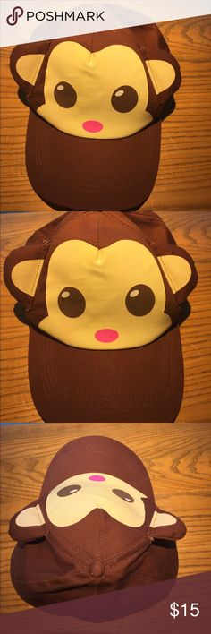 Moneky SnapBack Hat   Monkey see, monkey do with this SnapBack hat. Accessories Hats
