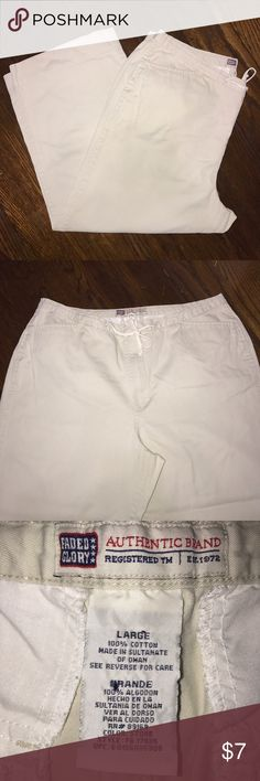 Faded Glory Capris- Vintage Vintage style. Great condition Faded Glory Pants Capris