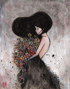 Stella Im Hultberg #flowers #art #painting