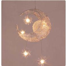 Kid's Room Lighting Modern Fashion Moon&Star Pendant Lights Child Bedroom Lamps Aluminum Chander for Living Room Home Decoration(China (Mainland)) Chandelier Ceiling Lights, Led Pendant Lights, Modern Pendant Light, Pendant Chandelier, Star Pendant, Pendant Lighting, Kids Room Chandelier, Ikea Chandelier, Iron Chandeliers