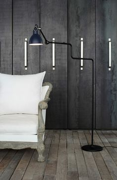 The DCW Editions Lampe Gras No. 411 Floor Lamp, available from Inspyer Lighting, is a great reading lamp, created with wonderful proportions and is extremely adjustable thanks to its double-elbow. Black Queen, Home Lighting, Lighting Design, Ballon Lampe, Dcw Editions, Lampe Gras, Adjustable Floor Lamp, Black Floor Lamp, Floor Lamps