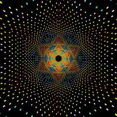 Star of David : hot Leading Amusing Gifs - Florarii Illusion Kunst, Illusion Gif, Cool Optical Illusions, Trippy Gif, Rainbow Bridge, Psychedelic Art, Geometric Art, Fractal Art, Sacred Geometry