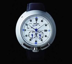 Seiko Izul Limite Edition Watch, bright titanium