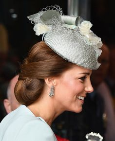 Kate Middleton Just Got Caught Wearing a Hairnet Over Her Flawless Second-Day Updo