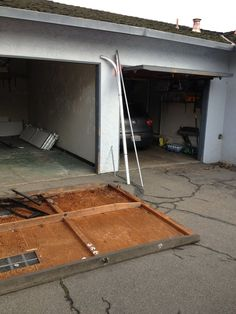 1000 Images About Garage Door Fails Off Track On
