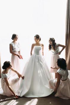 Bridesmaids luxury French Riviera weddings
