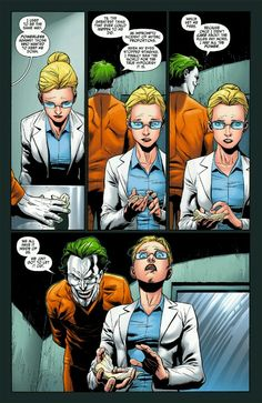 The moment of true devotion- the Joker and Harleen