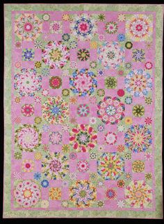 Stop & Smell the Rose Garden  quilt