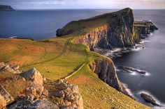 Neist Point - Isle of Skye, Scotland, UK