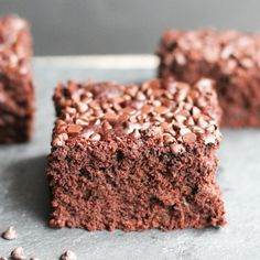 These zucchini chocolate brownies are so fudgy and good! You can be a sneaky chef and feed kids veggies they won't know it's there!