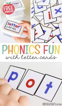 FREE Phonics Letter Cards