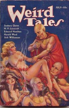 Weird Tales – Page 10 – Pulp Covers Pulp Fiction Book, Horror Fiction, Science Fiction Books, Bd Comics, Horror Comics, Scary Comics, Book Cover Art, Comic Book Covers, Sci Fi Books