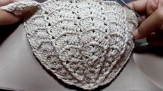 Cropped croche Sereia/Zulmira Altafim