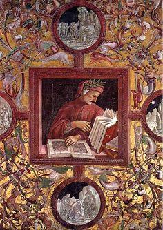 Luca Signorelli, Dante Fresco, Chapel of San Brizio, Orvieto Duomo, 1499-1502