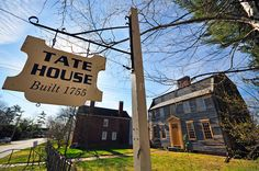 Historic Photography   Home » Portland, Maine » Portland's historic Tate House, located in Stroudwater Village...