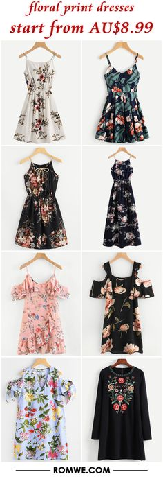 floral print dresses from AU$8.99