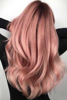 Rose Gold Hair Balayage picture2
