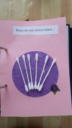 DIY - Wenn-Buch ... Wenn du mal schwer hörst