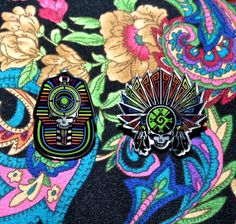 060232ed48e 2 Grateful Dead Pins Set of 2 by DabbersCollective on Etsy