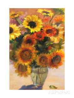 Bouquet of Sunflowers Posters at AllPosters.com