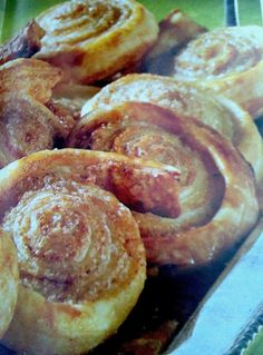 German Cinnamon Rolls_ German Cinnamon rolls are special. I love them when they are still a bit warm with vanilla ice cream.