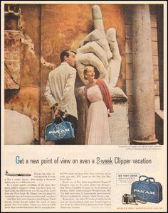 Pan Am Clipper service, 1958