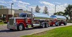 Clean fuel tanker