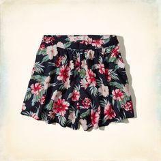 Girls Bellflower High Rise Culotte Shorts | Girls Clearance | HollisterCo.com