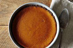Bourbon Pumpkin Pie with Gluten Free Gingersnap Crust This is dessert this year.