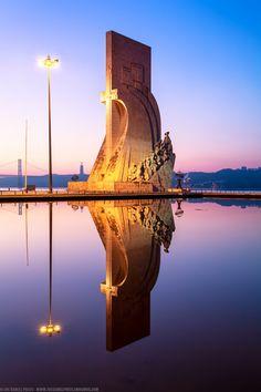 Reflection, Padrão dos Descobrimentos, Monument to the Discoveries, Belem, Lisbon, Portugal