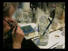 Step by step process of making a special order in champleve enamels by Catherine Crowe