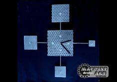 Hot Steel Wall Clock Perforated Metal Machine Age Steampunk Modern Design Pop Art Sculpture by BillieBoi on Etsy