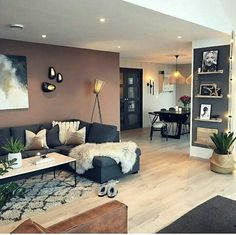 87 Neat and Cozy Living Room Ideas – Page 64 of 87 – Veguci Wohnzimmer Wohnzimmer Design Wohnzimmer Dekor Wohnung Home Living Room, Apartment Living, Interior Design Living Room, Living Room Designs, Design Interiors, Accent Walls In Living Room, Interior Livingroom, Decor For Living Room, Living Room Styles