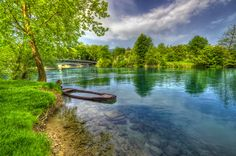 River Una at Bihac, Bosnia & Herzegovina by Boris Frkovic Bosnia And Herzegovina, Albania, Natural Beauty, National Parks, River, Explore, City, Places, Nature