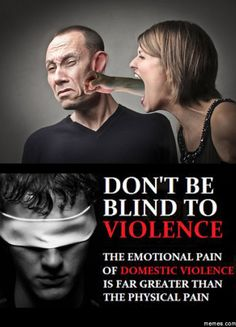 Don't stay quiet, stand up against domestic violence