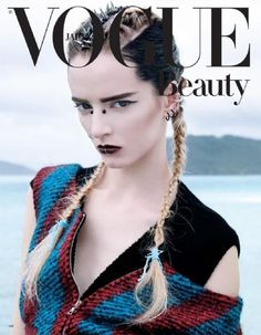 Daria Strokous - Vogue Beauty Japan Magazine (August 2013)